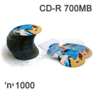 הדפסת דיסק CD-R